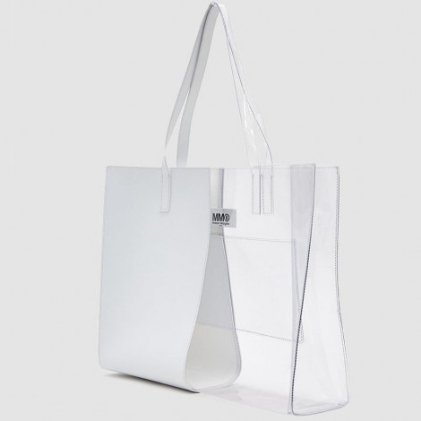 Mixed material tote