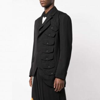 pocketed blazer
