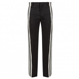 Side-striped track pants