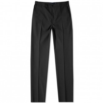 Slim fit wool trouser
