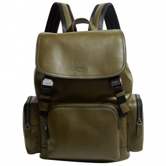Leather henry backpack