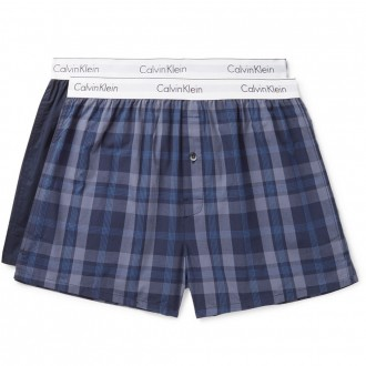 Two-pack cotton boxer shorts