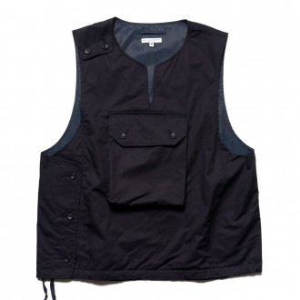 High count twill cover vest