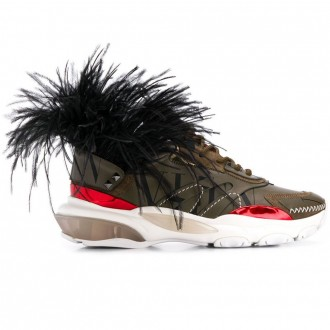Feather Sneakers