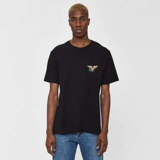 S/s eagle tee in black