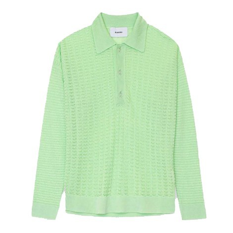 Polo Over Knit Lime