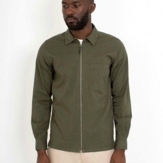 Jens Garment Dyed Twill Jacket
