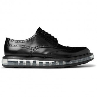 Levitate Polished-Leather Wingtip Brogues