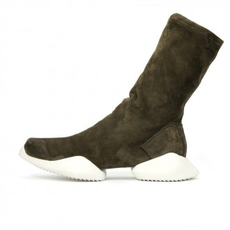 Runner Ankle Boot Dark Dune/Pear