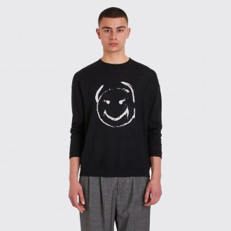 Knitted Smiley Sweater