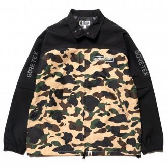 Gore-tex 1st camo detachable sleeve jacket