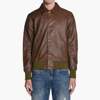Strauss Leather Jacket