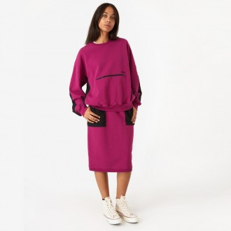 Simone pocket fleece sweatshirt