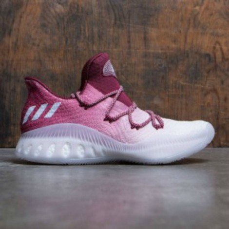 CRAZY EXPLOSIVE LOW PRIMEKNIT (GRAY / LIGHT SOLID GREY / FOOTWEAR WHITE / COLLEGIATE BURGUNDY)
