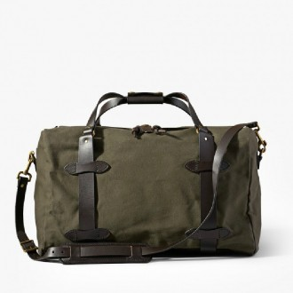 Medium Duffle Bag in Otter Green