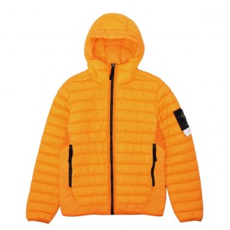 Garment Dyed Micro Yarn Down Hooded Jacket