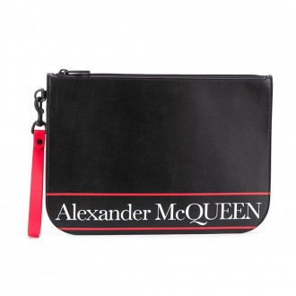 Clutch In Black Leather