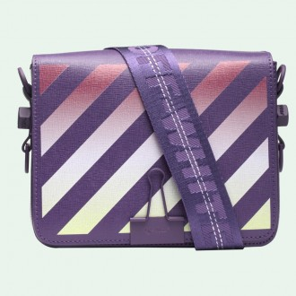 Purple Gradient Binder Clip