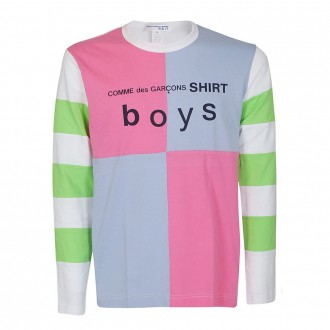 Multicolor Checked T-Shirt