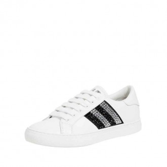EMPIRE STRASS LOW TOP SNEAKERS