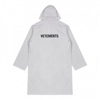 Women's Raincoat (White)