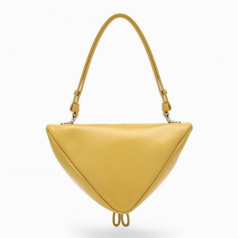Yellow Mini Triangular Bag