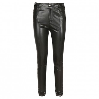 Slim Effect Leather Pants
