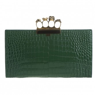 Jewel Pochette In Leather