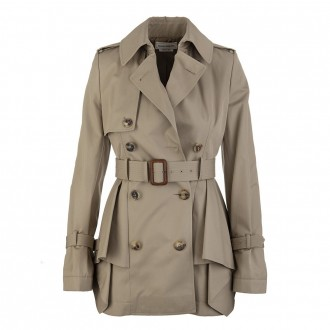 Flared Short Trench