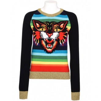 Multicolor Tiger Sweater