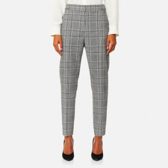 Cigarette Pants with Adjustable Strap at Waistband