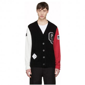 Tricolor Limited Edition Varsity Cardigan