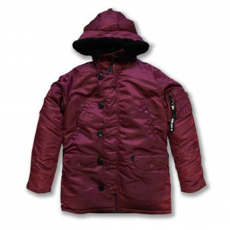 Alpha Industries x Patta N3B VF 59 (Burgundy)