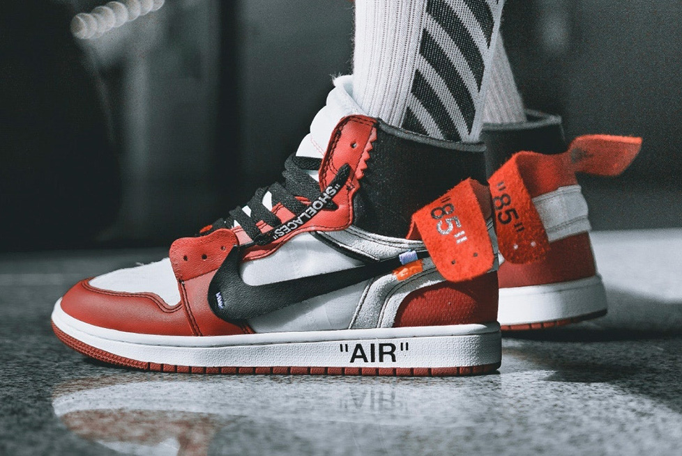 air nike per off white