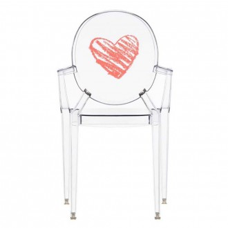 Lou Lou Ghost Chair Transparent For Children