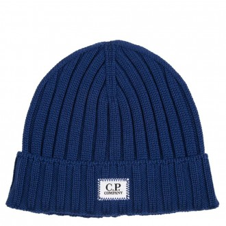 Wool Cap With Central Logo