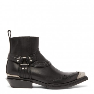 Santiag Western Leather Boots