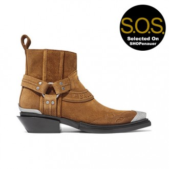 Santiag Suede Ankle Boots