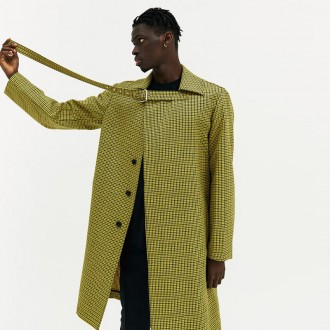 Yellow Buckle Coat