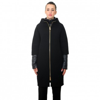 Black Woman Coat