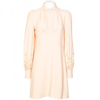Vintage Dress Misty Beige