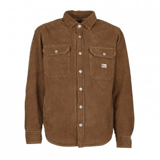 Padded Jacket Shirt With 500 Lines