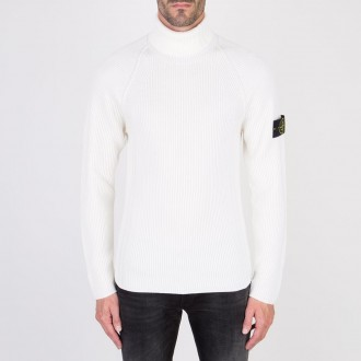 Turtleneck Natural White