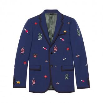 Monaco embroidered jacket