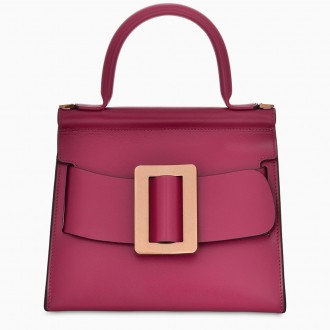 Fuchsia Karl 24 Gold Buckle Bag