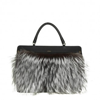 BAG LIKE M IN BLACK LEATHER