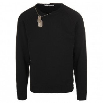 Black Sweater Atelier With Chain