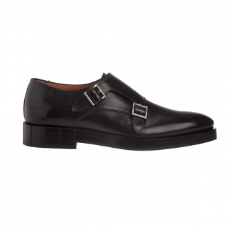 Shoe With Black Double Buckle