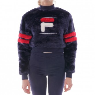 Fur Cropped Sweater