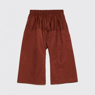 SHORT TROUSERS BROWN